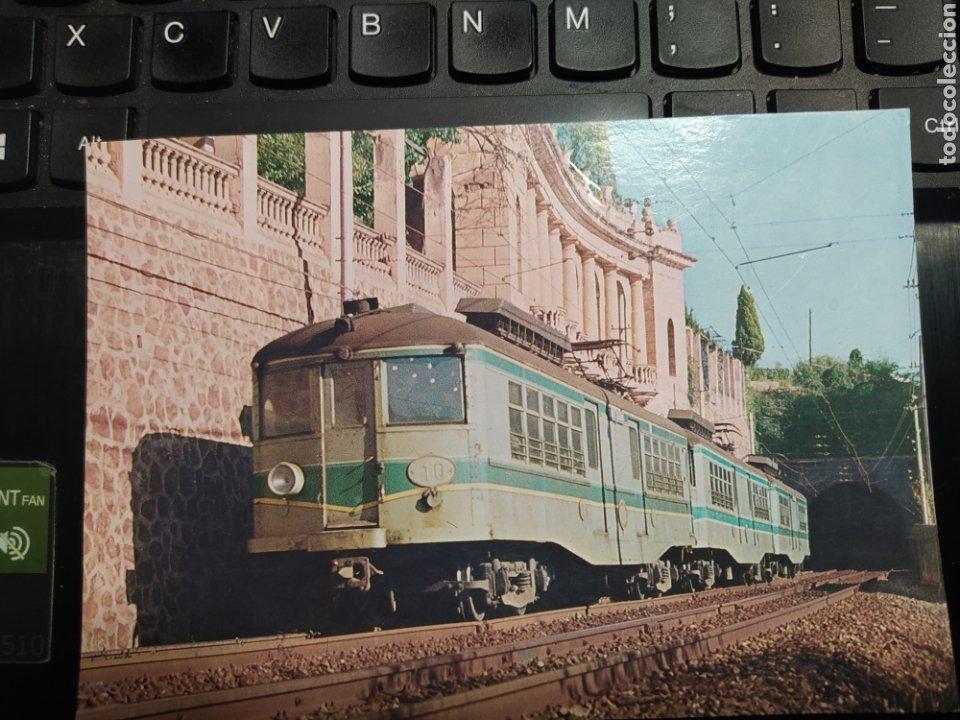 ASSOCIACIÓ D'AMICS DEL FERROCARRIL DE BARCELONA. BERGAS INDUSTRIAS GRAFICAS 1981 (Postales - Postales Temáticas - Trenes y Tranvías)