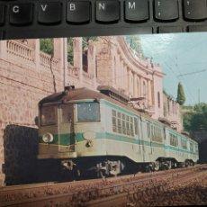 Postales: ASSOCIACIÓ D'AMICS DEL FERROCARRIL DE BARCELONA. BERGAS INDUSTRIAS GRAFICAS 1981. Lote 254945650