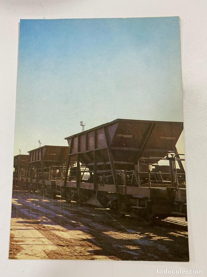 TARJETA POSTAL. TOLVAS TIPO 200000. COLECCION RENFE. SERIE M-13 (Postales - Postales Temáticas - Trenes y Tranvías)