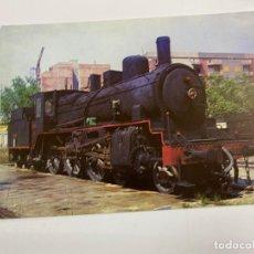 Postales: TARJETA POSTAL. LOCOMOTORA VAPOR 230-2085. COLECCION RENFE. SERIE R-10. Lote 254984125