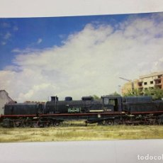 Postales: TARJETA POSTAL. LOCOMOTORA VAPOR GARRAF TIPO 282 F-0421. COLECCION RENFE. SERIE R-8. Lote 254984225
