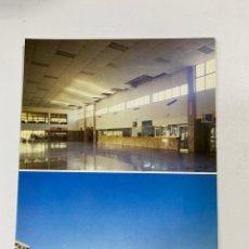 Postales: TARJETA POSTAL. VESTIBULO Y EXTERIOR DE LA NUEVA ESTACION DE GANDIA.COLECCION RENFE. SERIE E-24. Lote 254984855