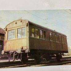 Postales: TARJETA POSTAL. COCHE SALON SERIE ZZ-620 DEL AÑO 1920. COLECCION RENFE.SERIE R-5. Lote 254986400
