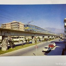 Postales: TARJETA POSTAL. UNIDAD ELECTRICA APEADERO DE LOS BOLICHES. COLECCION RENFE.SERIE E-21. Lote 254986540
