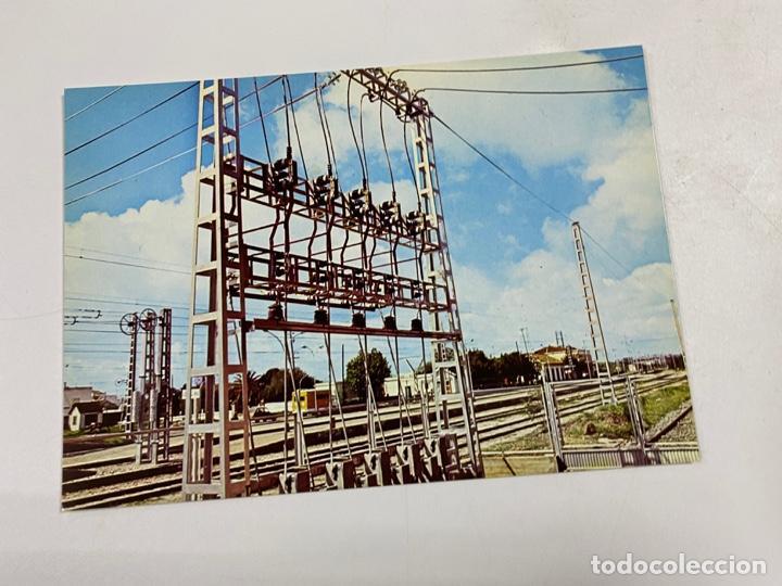 TARJETA POSTAL. ELECTRIFICACIÓN DE LA LINEA CORDOBA-SEVILLA. COLECCION RENFE.SERIE IE-4 (Postales - Postales Temáticas - Trenes y Tranvías)