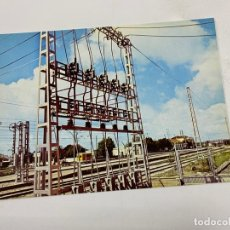 Postales: TARJETA POSTAL. ELECTRIFICACIÓN DE LA LINEA CORDOBA-SEVILLA. COLECCION RENFE.SERIE IE-4. Lote 254986785