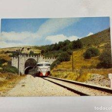 Postales: TARJETA POSTAL. LINEA DIRECTA MADRID-BURGOS. COLECCION RENFE.SERIE V-5. Lote 254986895