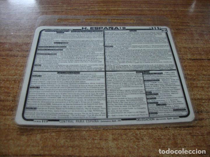 FICHA BZB HISTORIA DE ESPAÑA II (Postales - Postales Temáticas - Trenes y Tranvías)