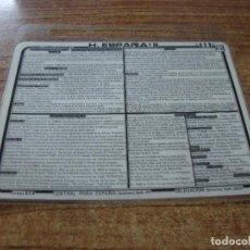 Postales: FICHA BZB HISTORIA DE ESPAÑA II. Lote 256021440