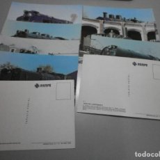 Postales: LOTE DE 8 POSTALES TRENES RENFE COLECCION SERIE V TODAS DIFERENTES SIN CIRCULAR. Lote 262738465