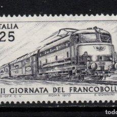 Postales: ITALIA 1065** - AÑO 1970 - TRENES - FERROCARRIL POSTAL. Lote 262772595