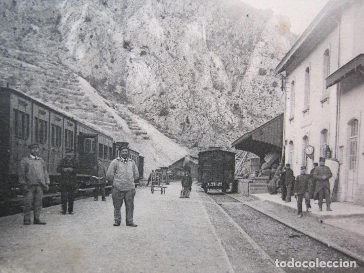 Postales: VILLEFRANCHE-ESTACION DEL FERROCARRIL-POSTAL ANTIGUA-(81.716) - Foto 2 - 269741963