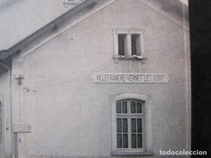 Postales: VILLEFRANCHE-ESTACION DEL FERROCARRIL-POSTAL ANTIGUA-(81.716) - Foto 3 - 269741963