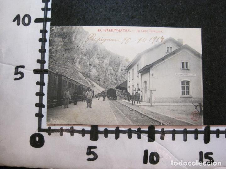 Postales: VILLEFRANCHE-ESTACION DEL FERROCARRIL-POSTAL ANTIGUA-(81.716) - Foto 5 - 269741963