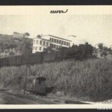 Postales: POSTAL TREN - LOCOMOTORA SERIE 240 CON TREN DE PASAJEROS - COCHE DEL FERROCARRIL - N.º 29 - ASAFER. Lote 295286713