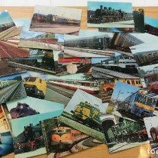 Postais: 29 POSTALES EDITADAS POR RENFE, AÑOS 1978 A 1984. Lote 275731968