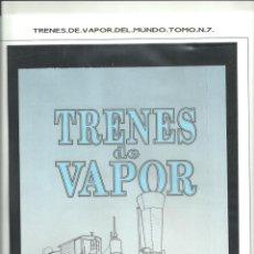 Postales: TRENES DE VAPOR DE TODO EL MUNDO. Lote 277141608