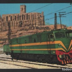 Postales: POSTAL TREN - LOCOMOTORA DIESEL ELÉCTRICA - N.º 7 - AMICS FERROCARRIL DE BARCELONA. Lote 277689363