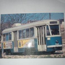 Postales: POSTAL TRANVÍA DE MADRID. SIN USAR. AÑOS 80. Lote 278701533