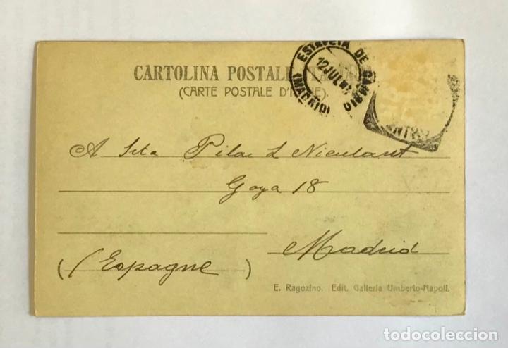 Postales: POSTAL FOTOGRÁFICA DEL FUNICULAR DEL VESUBIO, NAPOLI. - Foto 2 - 15392745