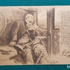 Postales: POSTAL EL TREN EXPRESO II (1902) SERIE Nº 20 - DIBUJANTE P. CARCEDO. Lote 289588233