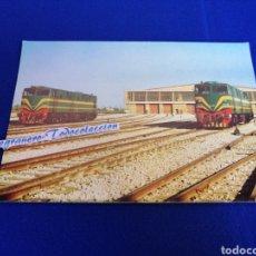 Postales: LOCOMOTORA DIESEL - ELÉCTRICA SERIE 1900 RENFE TARJETA POSTAL. Lote 294860563