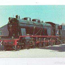 Postales: TARJETA POSTAL RENFE, LOCOMOTORA 1400 MZA. Lote 295547558