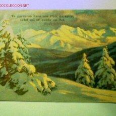 Postales: POSTAL ANTIGUA FECHADA POR ATRÁS EN 1938 Y EDITADA EN SUIZA. Lote 1241204