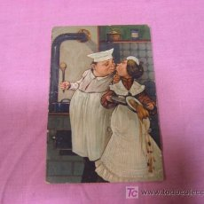 Postales: POSTAL RELIEVE IMPRESA ENALEMANIA REG USA. Lote 15860633