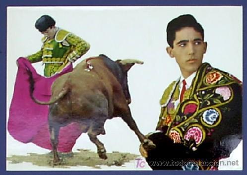 POSTAL DEL TORERO PACO CAMINO AÑOS 1969. FOTOS CARRETERO. (Postales - Varios)