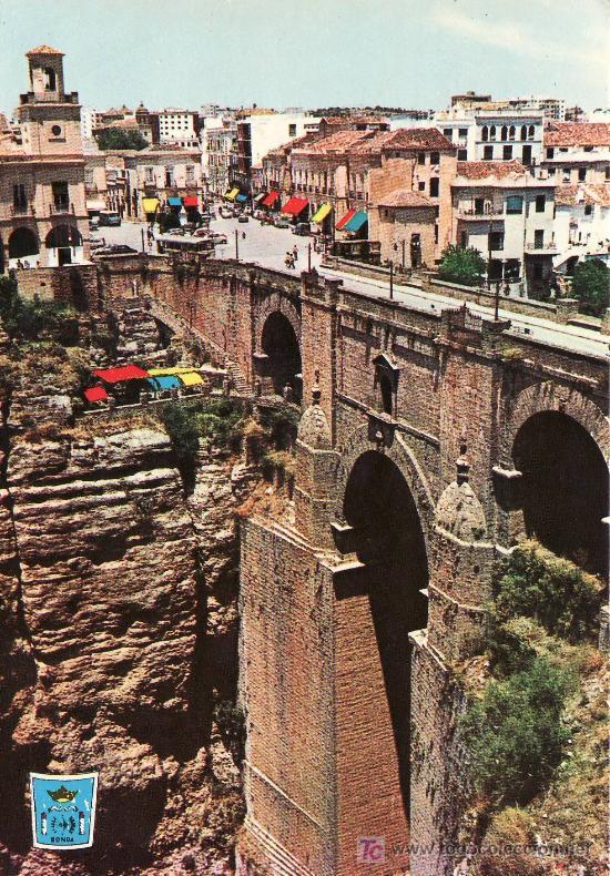 RONDA. COSTA DEL SOL. PUENTE NUEVO. (Postales - España - Andalucia Moderna (desde 1.940))