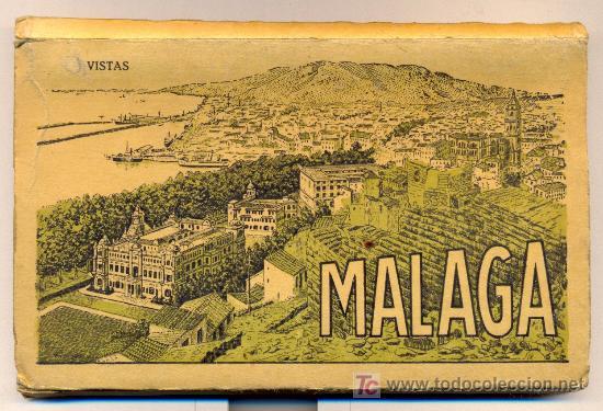 MALAGA. 14 POSTALES DE ROISIN, AÑOS 40. (Postales - España - Andalucia Moderna (desde 1.940))