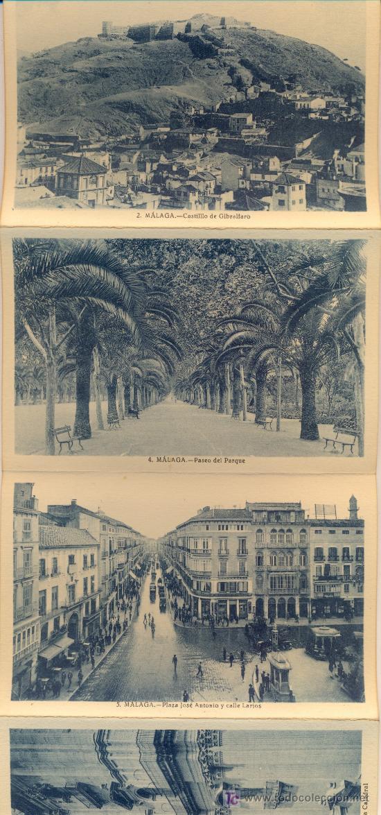 Postales: MALAGA. 14 postales de Roisin, años 40. - Foto 2 - 24838665