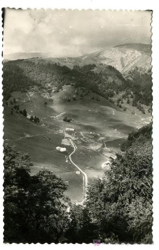 VALLE DE ZURIZA (ISABA) - VISTA PANORAMICA - FRANQUEADA Y ESCRITA 1960 (VER FOTO) (Postales - Varios)