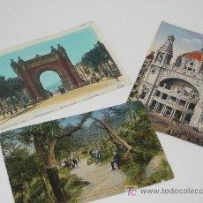 Postales: LOTE DE 3 POSTALES. 2 DE FRANCIA Y UNA DE COLISEUM DE BARCELONA. Lote 26315678