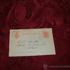 Postales: TARJETA POSTAL ESCRITA 1916. Lote 8723910