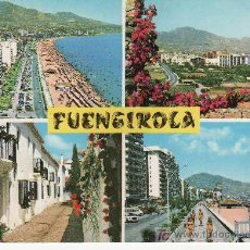 Postales: 1129 COSTA DEL SOL. FUENGIROLA. EDISOL. VEA MAS POSTALES EN RASTRILLOPORTOBELLO. Lote 25961769