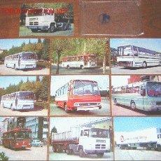 Postales: TOTIMES - PEGASO - LOTE 10 POSTALES ORIGINALES - AUTOBUS - AUTOCAR - CAMION. Lote 22149913