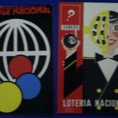 Postales: TARJETAS POSTALES LOTERIA. Lote 1412417
