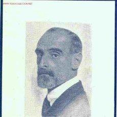 Postales: FRANCESC CAMBÓ I BATLLE. RECUERDO DEFUNCIÓN, 1947. Lote 9918618