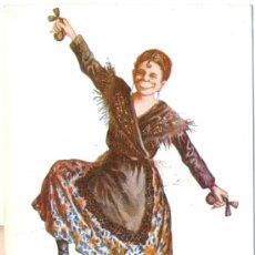 Postales: LA DOLORES. DIBUJO DE J. IBÁÑEZ. POSTAL COLOR, C. 1920. Lote 24333484