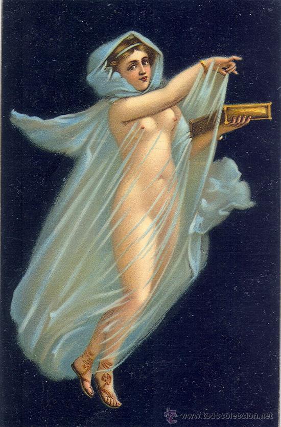 POMPEYA. LA AURORA. POSTAL COLRO ALEMANA, BUENA IMPRESIÓN, C. 1915. (Postales - Varios)
