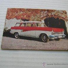 Postales: MAGNIFICA FOTO POSTAL FORD TAUNUS 17 M KOMBI. Lote 23688208
