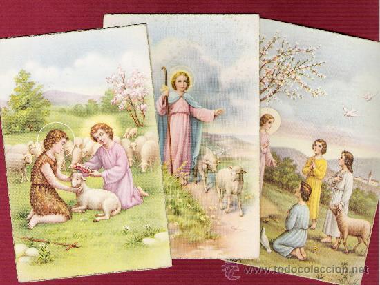 3 Magníficas Tarjetas Religiosas Para Niños A Kaufen Andere Alte