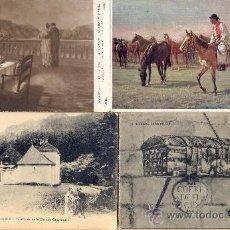 Postales: POST 380 - 4 POSTALES NO CIRCULADAS: FOURVOIRIE, HENRI ALBERTI, BURGOS-CID, BREIDWISER. Lote 23133867