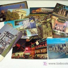 Postales: LOTE DE 10 POSTALES EXTRANJERAS. Lote 27254827