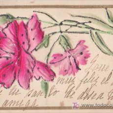 Postales: TARJETA POSTAL CON RELIEVE (1910). Lote 13164468
