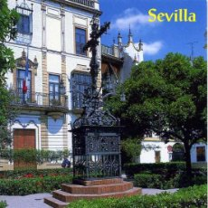 Postales: BARRIO DE SANTA CRUZ.PLAZA DE SANTA CRUZ ( SEVILLA )+ POSTALES Y MUCHO + EN MI TIENDA. Lote 12935744