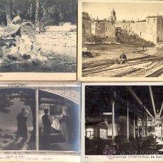 Postales: POST 311 - LA GRANJA , SAINT TROPEZ, ALIZARD, BARCELONA - 4 POSTALES NO CIRCULADAS -. Lote 23152552