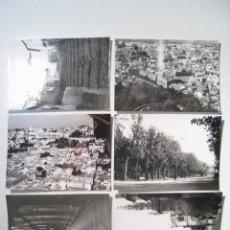 Postales: LOTE 6 FOTOGRAFIAS ANTIGUAS GRANADA 1970. Lote 13613245